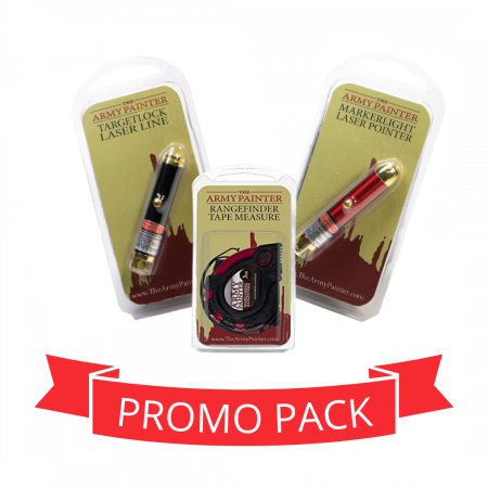 Measuring Tape + Lasers - Promo Pack0
