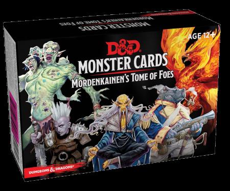Monster cards Mordenkainen's Tome of Foes - EN0