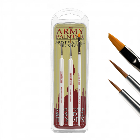 Most Wanted Brush Set - The Army Painter1