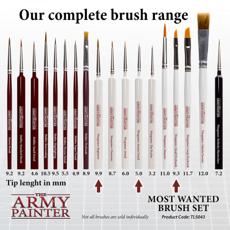 Most Wanted Brush Set - The Army Painter3