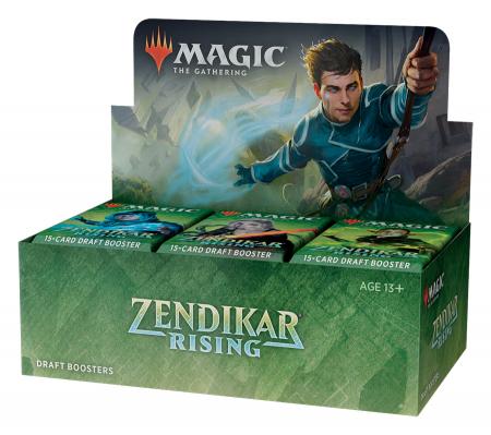 MTG - Zendikar Rising Draft Booster3
