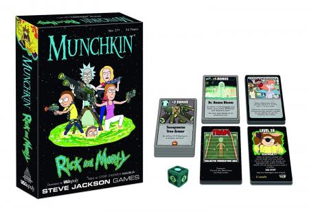 Munchkin: Rick and Morty - EN1