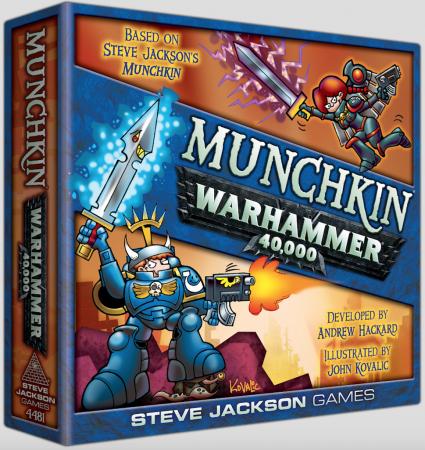 Munchkin Warhammer 40,000  - EN0