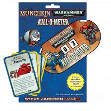 Munchkin Warhammer 40,000 – Kill-O-Meter (Extensie) - EN