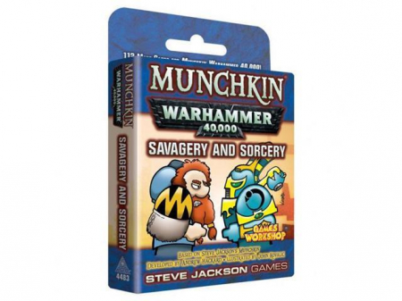 Munchkin Warhammer 40,000 – Savagery and Sorcery (Extensie) - EN