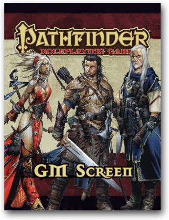 Pathfinder RPG GM Screen0