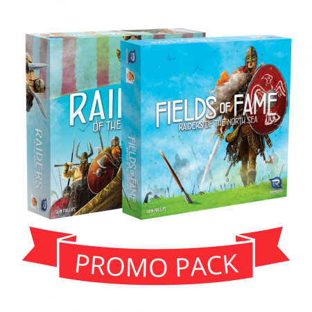 Raiders of the North Sea & Fields of Fame - Promo Pack0