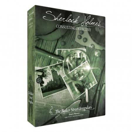 Sherlock Holmes Consulting Detective: Baker Street Irregulars - EN
