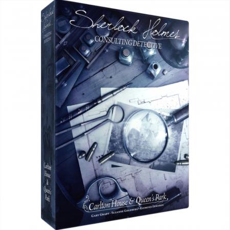 Sherlock Holmes Consulting Detective: Carlton House & Queen's Park - EN