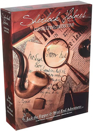Sherlock Holmes Consulting Detective: Jack the Ripper & West End Adventures - EN