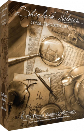 Sherlock Holmes Consulting Detective: The Thames Murders & Other Cases - EN
