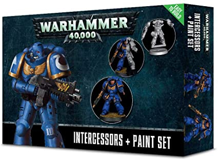 Space Marines Intercessors Paint Set - GW0