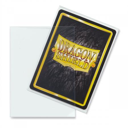 Standard Sleeves: Clear 63x88mm (100 buc) - Dragon Shield1