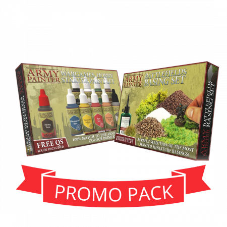 The Army Painter Paints + Basing - Promo Pack0