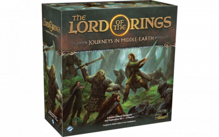 The Lord of the Rings: Journeys in Middle-Earth Board Game - EN0