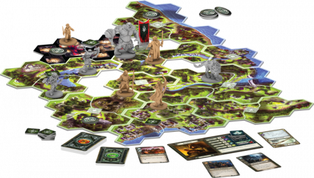 The Lord of the Rings: Journeys in Middle-Earth Board Game - EN1