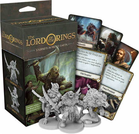 The Lord of the Rings: Journeys in Middle-Earth Board Game - Villains of Eriador Figure Pack (Extensie)1
