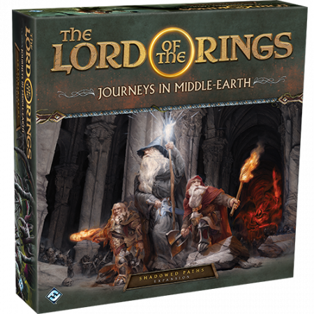 The Lord of the Rings: Journeys in Middle- Earth Shadowed Paths Expansion (Extensie) - EN0