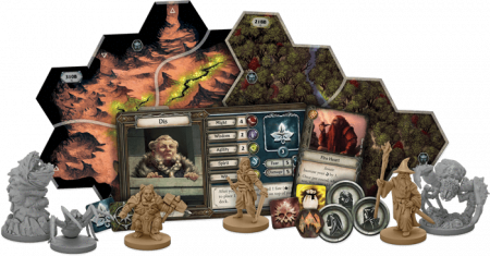 The Lord of the Rings: Journeys in Middle- Earth Shadowed Paths Expansion (Extensie) - EN1