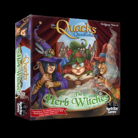 The Quacks of Quedlinburg: The Herb Witches (Extensie) - EN