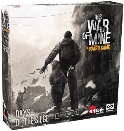 This War of Mine: The Board Game - Days of the Siege Expansion - EN0