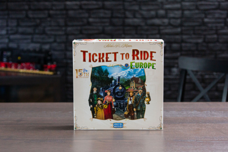 Ticket to Ride: Europe - 15th Anniversary - EN2