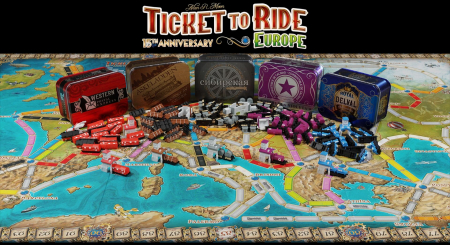 Ticket to Ride: Europe - 15th Anniversary - EN4