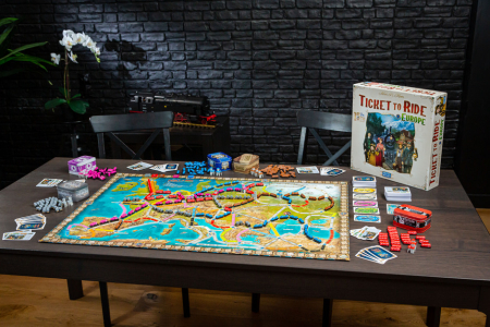 Ticket to Ride: Europe - 15th Anniversary - EN1