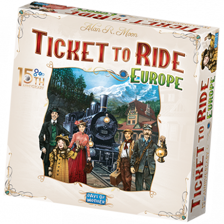 Ticket to Ride: Europe - 15th Anniversary - EN0