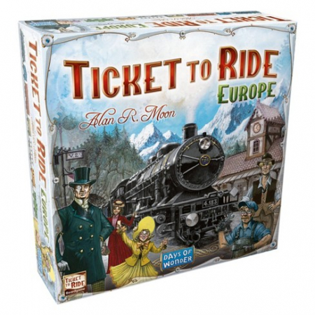 Ticket to Ride - Europe - EN0