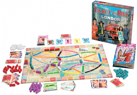 Ticket to Ride: London - EN1