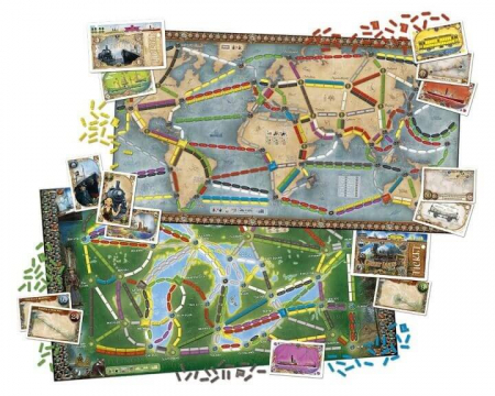 Ticket to Ride: Rails and Sails (Extensie) - EN [1]
