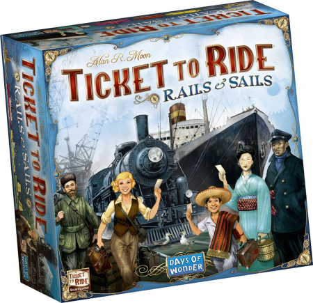 Ticket to Ride: Rails and Sails (Extensie) - EN0