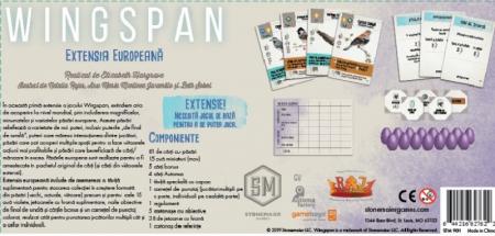 Wingspan: Extensia Europeana - RO1