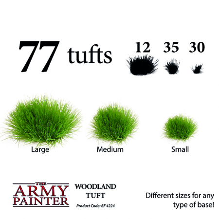 Woodland Tuft - The Army Painter2