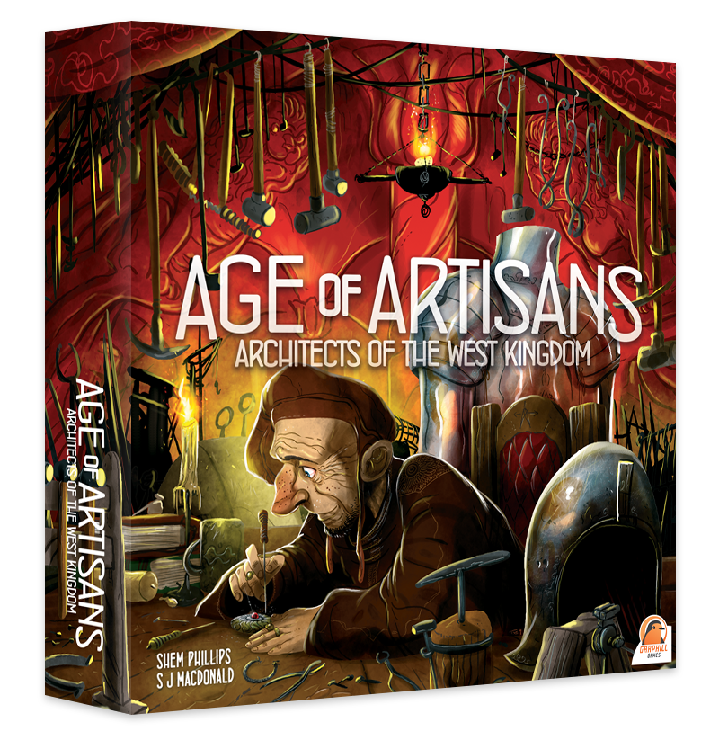 Architects of the West Kingdom: Age of Artisans (Extensie) - EN