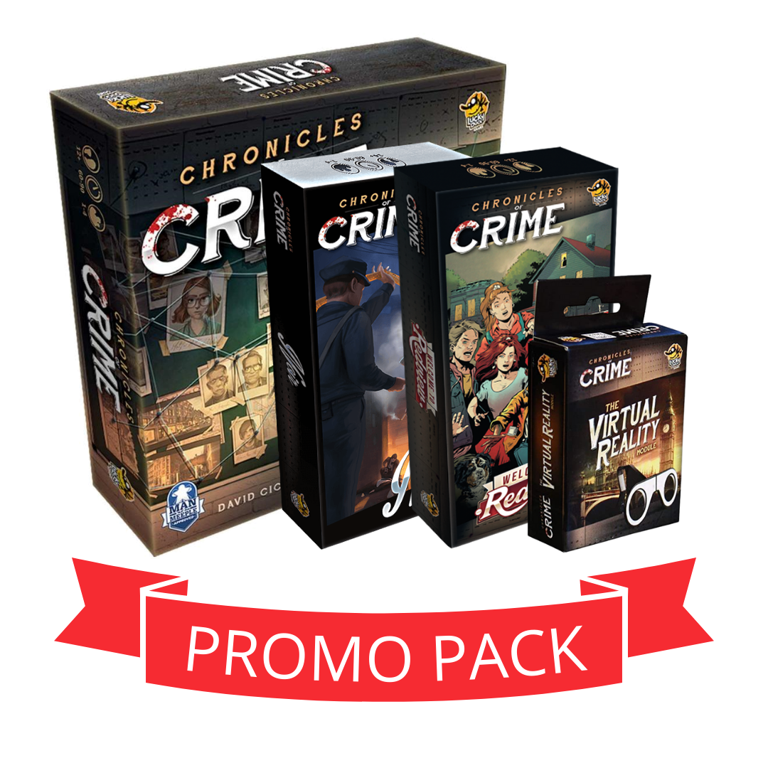 Chronicles Of Crime - Promo Pack
