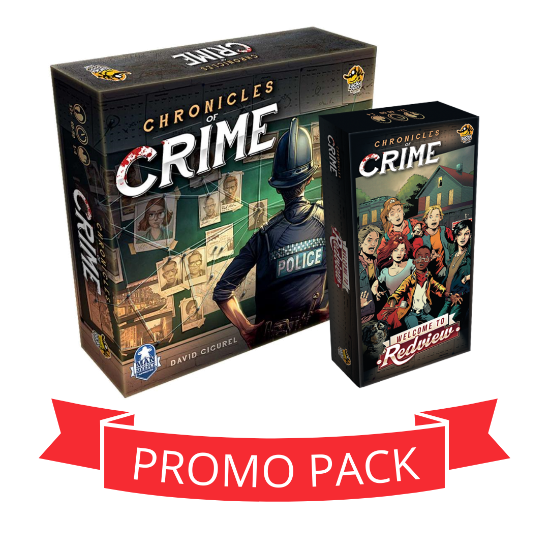 Chronicles Of Crime  Redview - Promo Pack