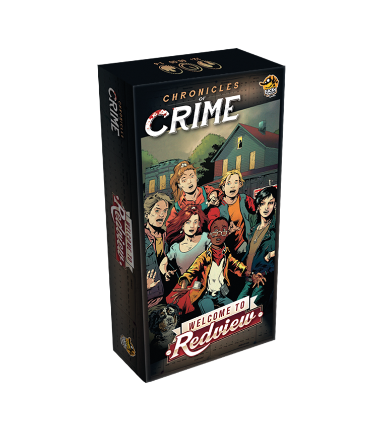 Chronicles of Crime - Welcome to Redview (Extensie) - EN
