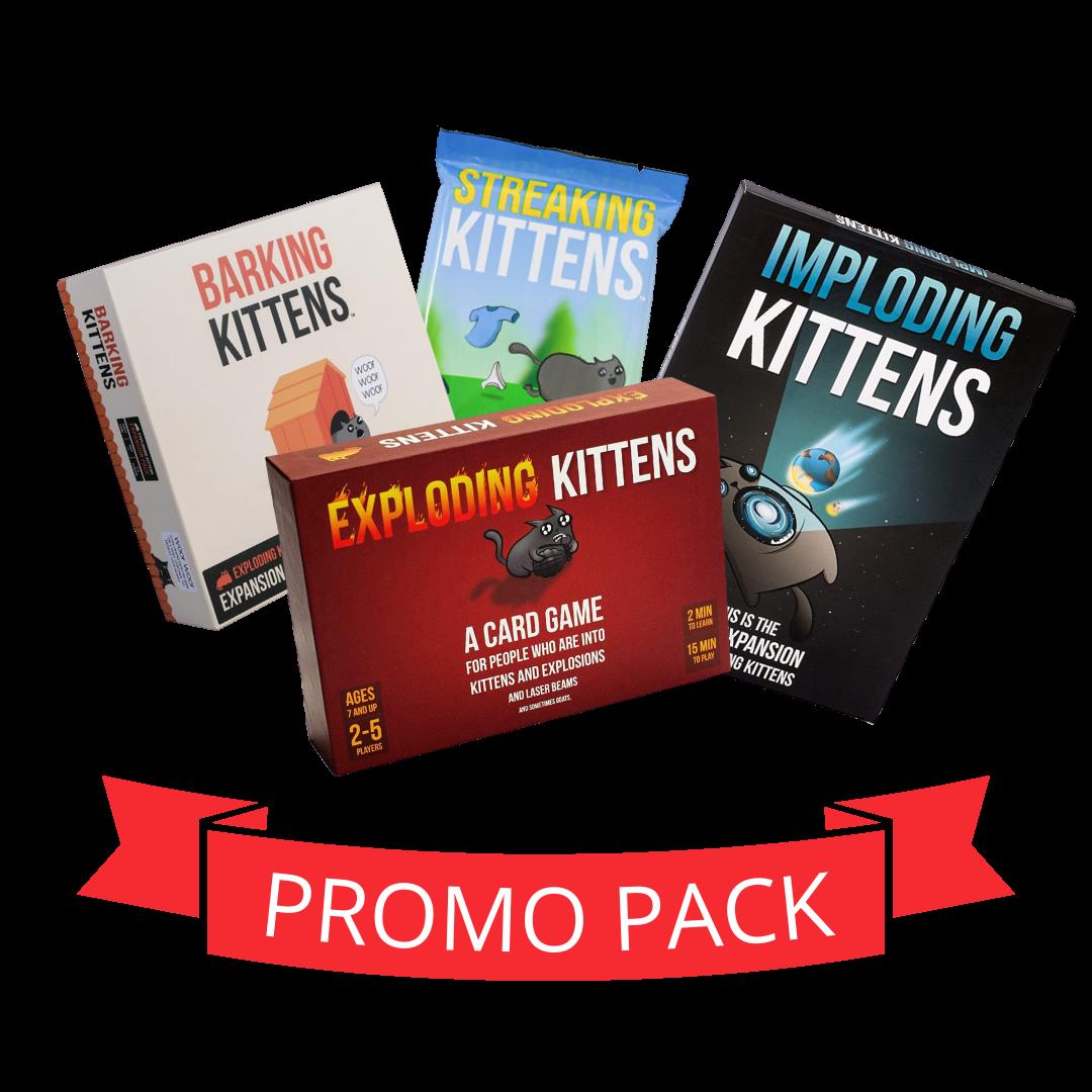 Exploding Kittens Family - Promo Pack