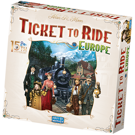 Ticket to Ride: Europe     15th Anniversary - EN