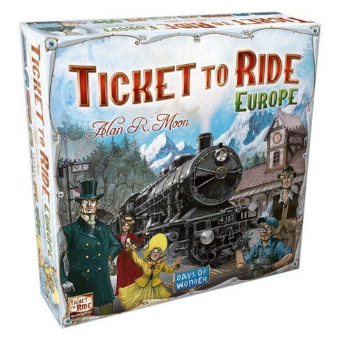 Ticket to Ride - Europe - EN