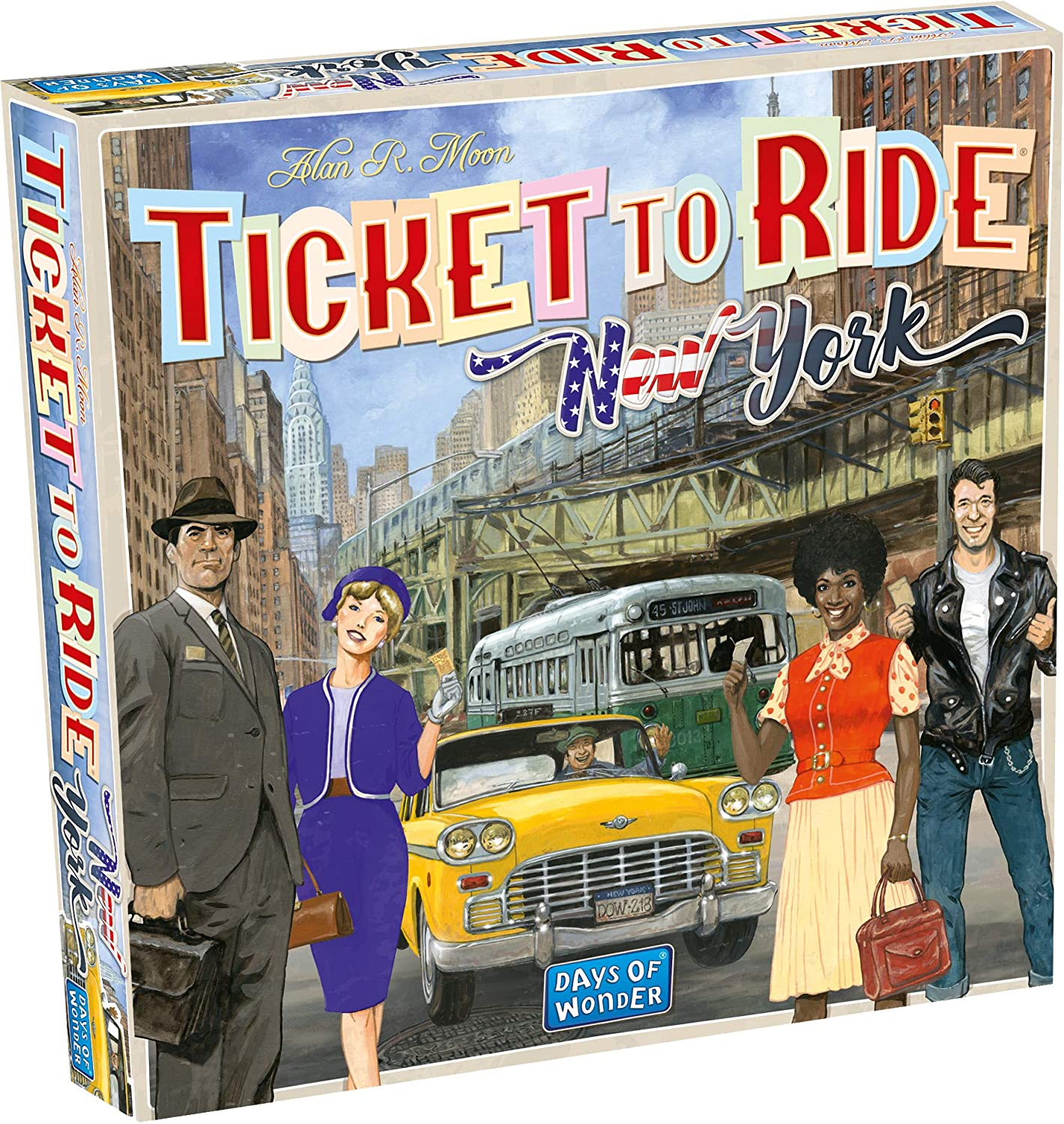 Ticket to Ride: New York City 1960 - EN