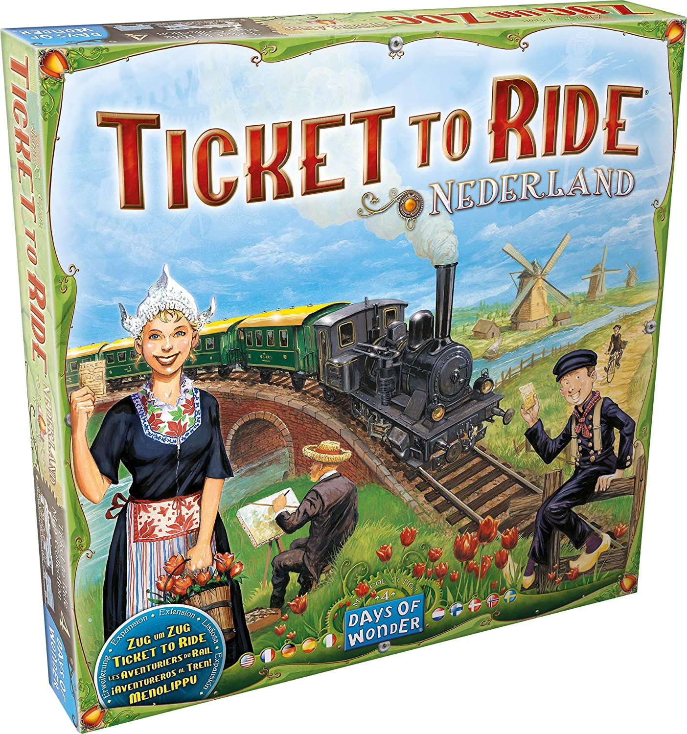 Ticket to Ride - Map Collection 4: Nederland (Extensie) - EN