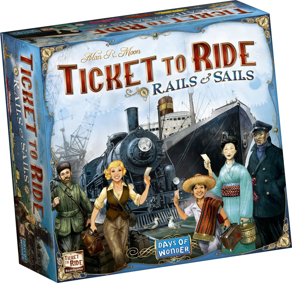 Ticket to Ride: Rails and Sails - EN