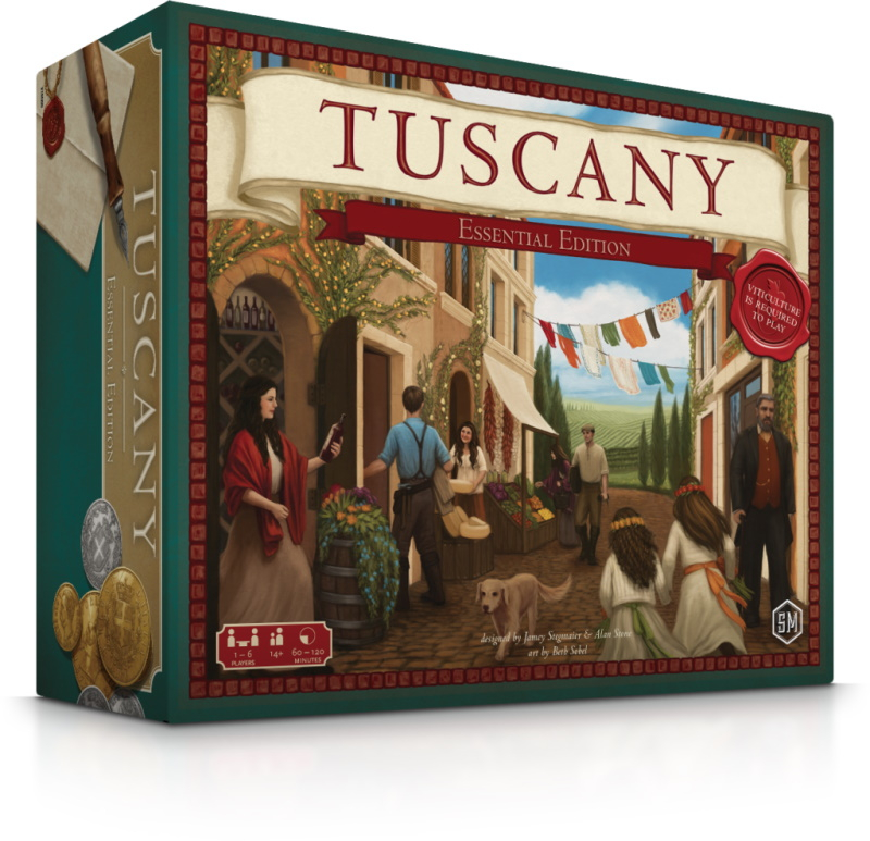 Viticulture: Tuscany Essential Edition (Extensie) - EN