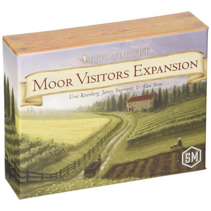 Viticulture: Moor Visitors Expansion (Extensie)     EN