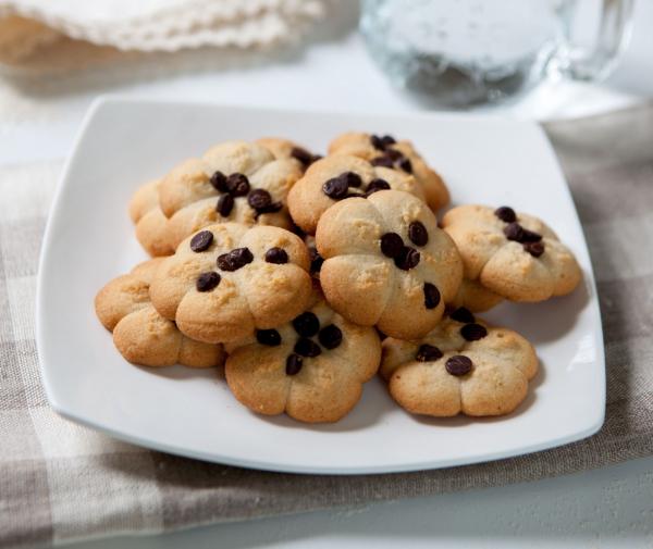 Cookies cu vanilie și pepite de ciocolată 0