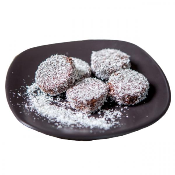 """Prăjitură cu cacao și cocos """"tăvălită"""" 0"""