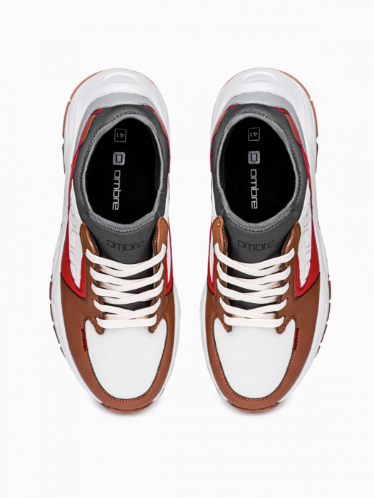 Sneakers casual barbati T363 - maro 3